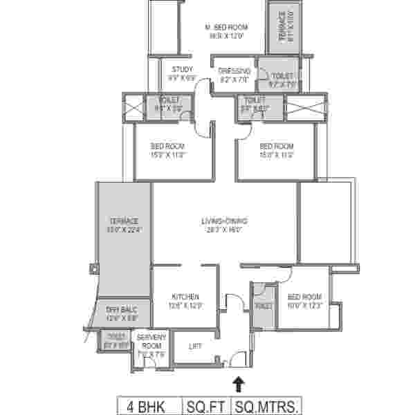 budget flat in Baner